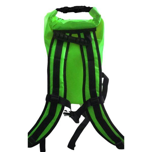 sac a dos étanche vert