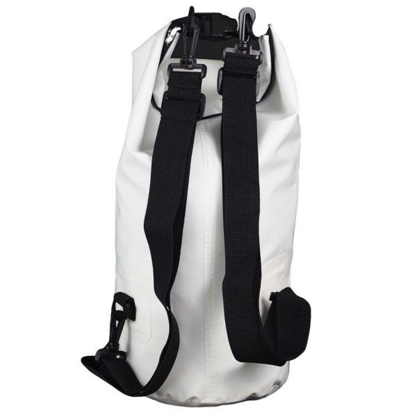 sac étanche blanc 10 litre verso